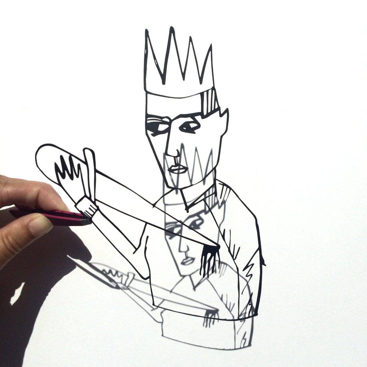 Lasercut König