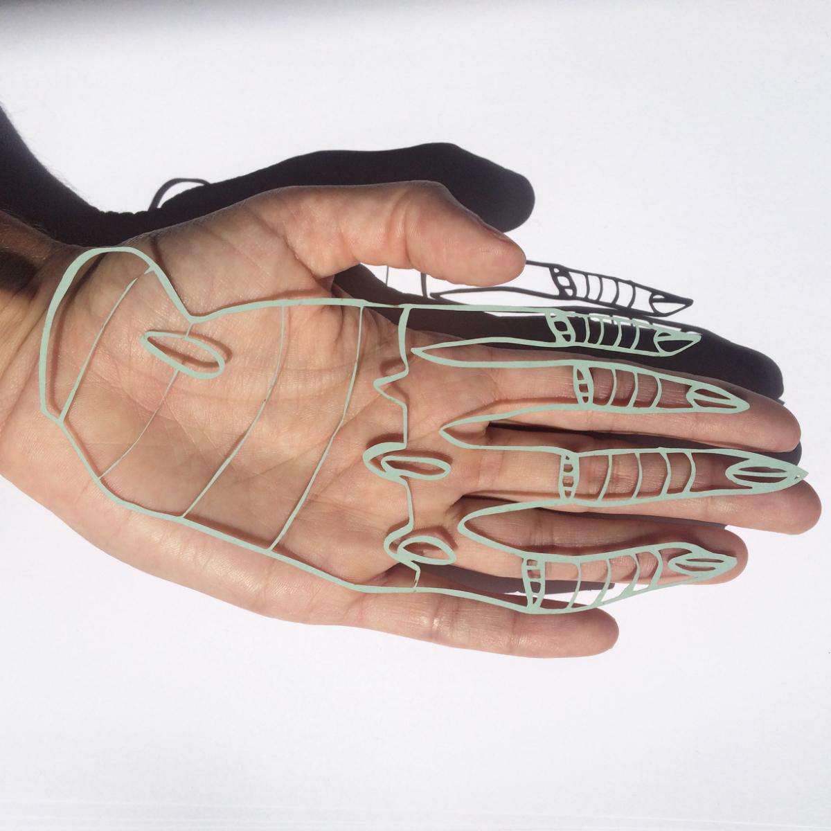Lasercut Hand