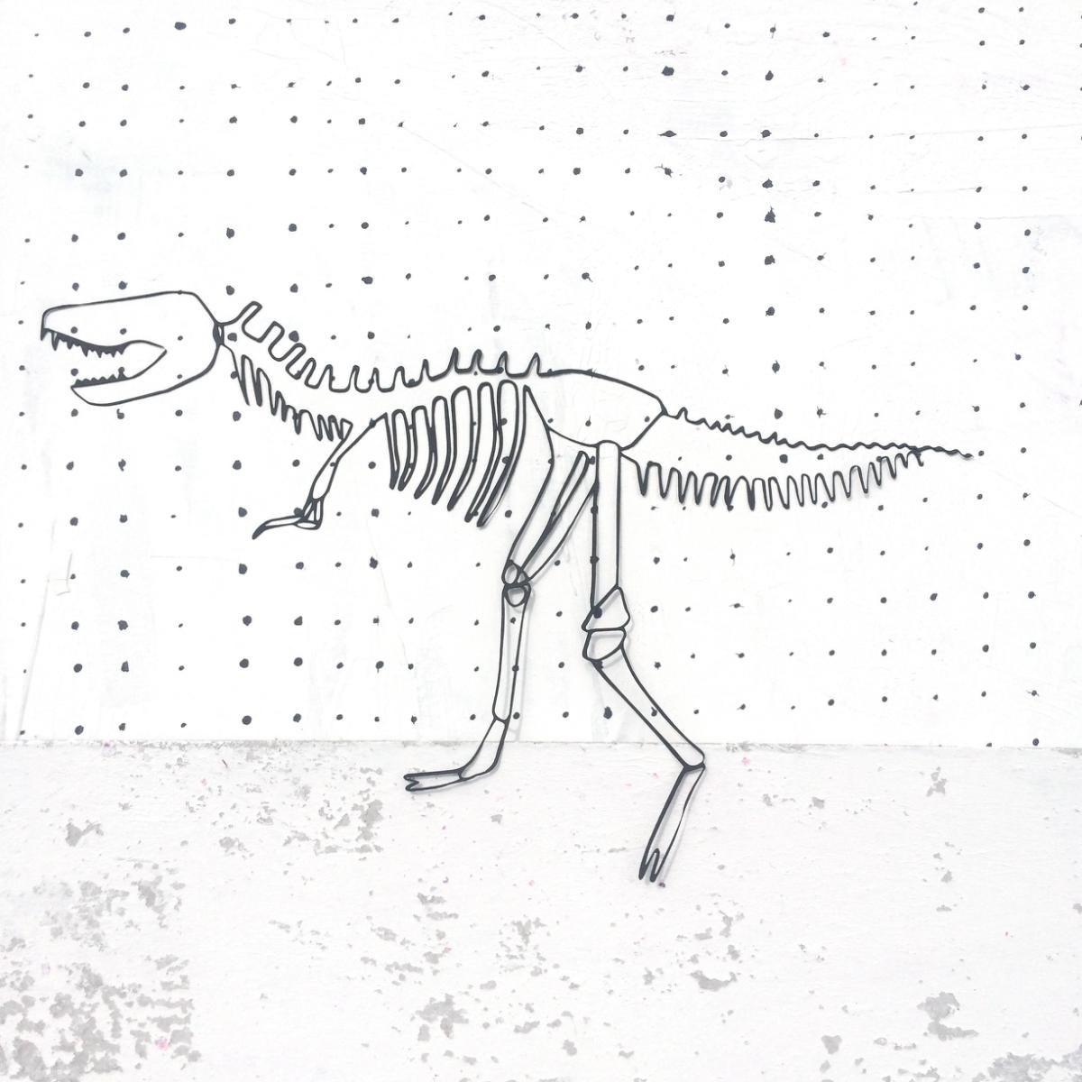 Lasercut Dinosaurier